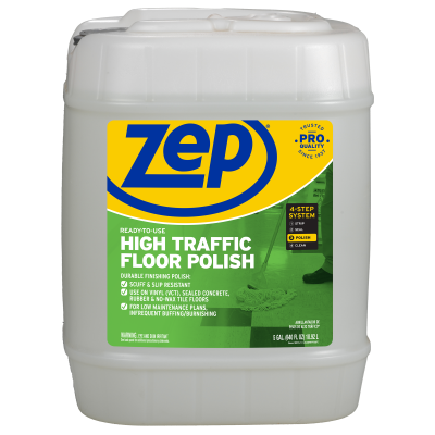 High-Traffic Floor Polish